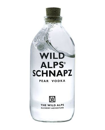Wild Alps, Pear Vodka, 50 cl