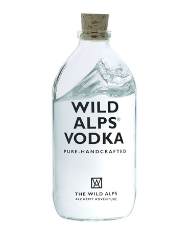 Wild Alps, Pure Handcrafted Vodka, 50 cl