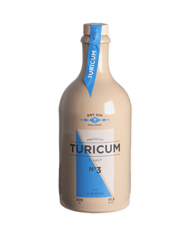 Turicum Dry Gin, Small Batch, 50 cl