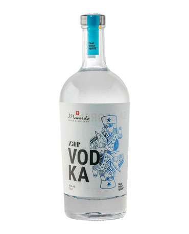Macardo, zar VODKA, 70 cl
