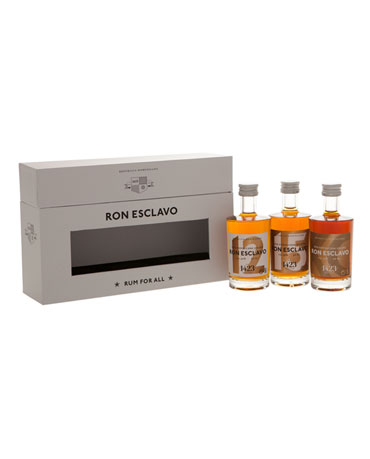 Ron Esclavo, Miniature Set, 3x 5cl (12y, 15y, XO)