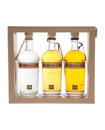 Espressioni Set (Edition 2017), Grappa Marzadro, 3x 35 cl