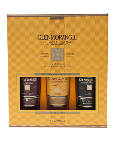Glenmorangie Pioneering Collection, Geschenkpackung, 3x 35 cl
