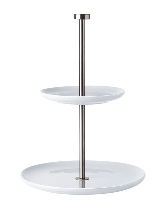 à table, Etagere, 2-stufig, rund