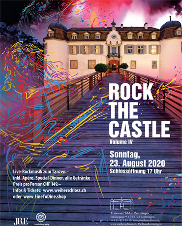 Rock The Castle Vol. IV, 23.08.2020, Weiherschloss, Bottmingen