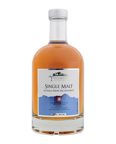 Säntisblick Destillerie, Single Malt, Vieille Prune Fass, 50cl