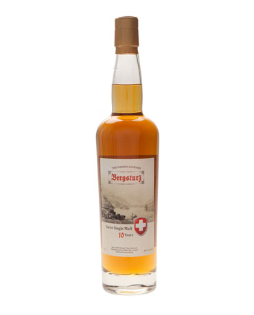 Z'Graggen, Bergsturz, Swiss Single Malt Whisky 10 years, 70 cl